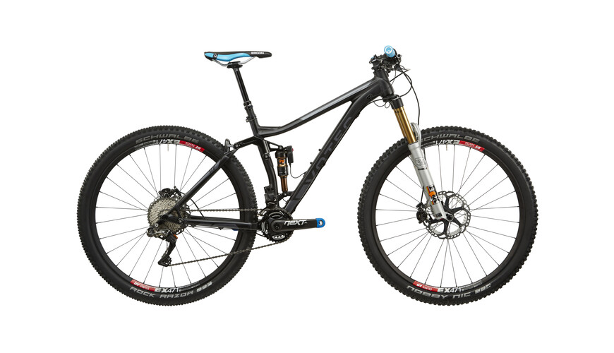 "VOTEC VX Evo - Trail Fully Di2 29"" - anodized black matt/dark grey glossy"
